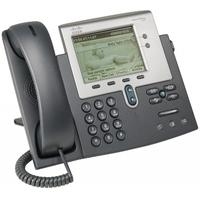 Cisco dect telefoon: Unified IP Phone 7942G, Spare - Grijs