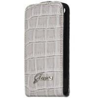 GUESS Flap Case for Samsung Galaxy S4 Mini - beige mobile phone case