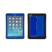 Griffin tablet case: Cover case for iPad Air, Blue/Black - Zwart, Blauw