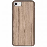 IMoshion product: Lichtbruin Wood Snap On Cover iPhone 8 / 7 - Lichtbruin hout