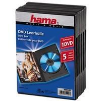 Hama Dvd Doos - 5 stuks / Zwart