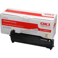 OKI cartridge: Toner for C831/C841, Yellow, 10000 Pages - Geel