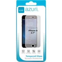 "Azuri screen protector: Screen protector Tempered Glass voor Apple iPhone 6 - 4.7"""