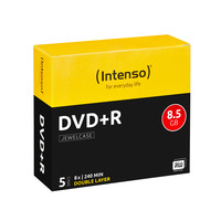 Intenso DVD: DVD+R 8.5GB, DL, 8x