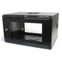 "StarTech.com 6U 48.26 cm (19"") ServerServerkast Wandmontage met Acryl Deur Rack - Zwart"
