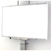 ErgoXS TV standaard: Digibord Wandframe Universeel, 60 kg, 54 - 114 cm, 220V / 50 Hz - Grijs