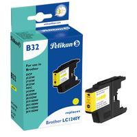 Pelikan inktcartridge: B32 - Geel