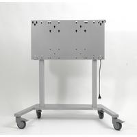 ErgoXS ErgoFrame Touchlift Laag, Max 90 kg TV standaard - Zilver