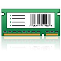 Lexmark printing equipment spare part: MX91x Formulier- en streepjescodekaart