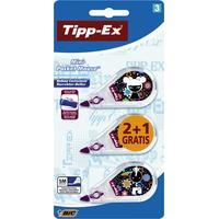 TIPP-EX Mini Pocket Mouse Film/tape correctie - Multi kleuren