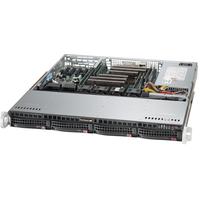 Supermicro server barebone: SuperServer 6018R-MTR - Zwart
