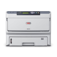 OKI laserprinter: B840dn - Zwart