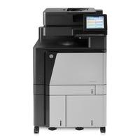 HP multifunctional: LaserJet M880z+ - Zwart, Cyaan, Magenta, Geel