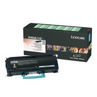 Lexmark toner: X46x 3,5K retourprogramma tonercartridge - Zwart