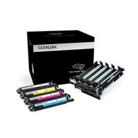 Lexmark printerkit: 700Z5 40K zwarte en kleuren imaging kit - Zwart, Cyaan, Magenta, Geel