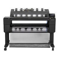 HP grootformaat printer: Designjet T1500 36-in PostScript ePrinter - Cyaan, Grijs, Magenta, Mat Zwart, Foto zwart, Geel