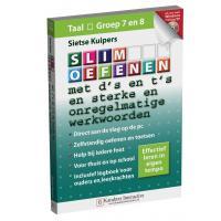 Karakter educatieve software: Slim Oefenen, Met d's en t's en sterke en onregelmatige werkwoorden (Groep 7 en 8)