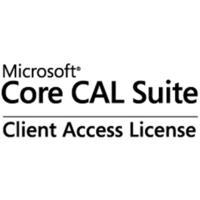 Microsoft software licentie: Core CAL Suite, 1 CAL, L/SA, OLP, EN