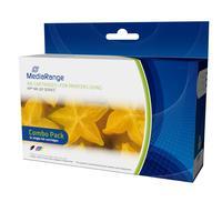 MediaRange inktcartridge: ink cartridges, for HP® Nr. 301 series, remanufactured, Set 2 - Zwart, Cyaan, Magenta, Geel