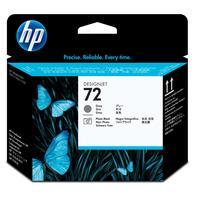 HP printkop: 72 grijze/fotozwarte DesignJet printkop - Zwart, Grijs