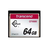 Transcend flashgeheugen: 64GB CFX600 CFast 2.0