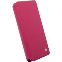 Krusell Malmo FlipWallet Slide 3XL Mobile phone case - Roze