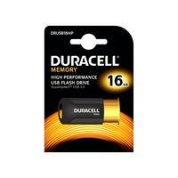 Duracell RAM-geheugen: 16GB USB 3.0 High Performance - Zwart, Oranje