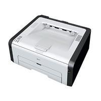 Ricoh laserprinter: A4, 22ppm, 1200x600dpi, GDI, USB 2.0, 7.2kg - Zwart