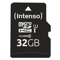 Intenso flashgeheugen: 32GB microSDHC