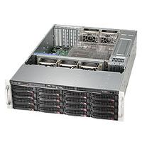 Supermicro behuizing: SuperChassis 836BE26-R920B - Zwart