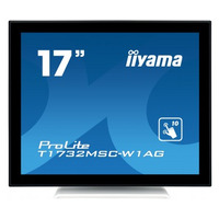 Iiyama touchscreen monitor: ProLite T1732MSC-W1AG - Zwart, Wit