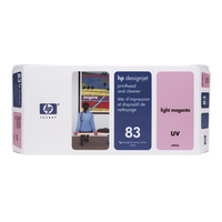 HP printkop: 83 licht-magenta DesignJet UV-printkop en printkopreiniger - Lichtmagenta