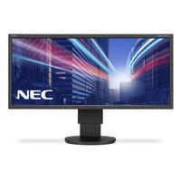 NEC monitor: MultiSync EA294WMi - Zwart