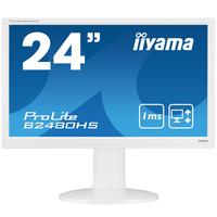 "Iiyama monitor: ProLite B2480HS-W2 23,6"" Full HD TN - Business - Wit"