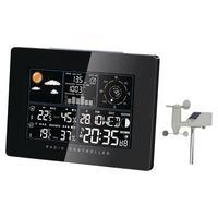 Balance weerstation: Solar Weather Station Indoor and Outdoor Black - Zwart