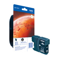 Brother inktcartridge: LC-1100HYBK Inktcartridge zwart
