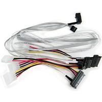 Adaptec kabel: ACK-I-rA-HDmSAS-4SAS-SB-.8M - Multi kleuren