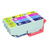 MediaRange inktcartridge: ink cartridges, for Epson® T2621 and T2631 - T2634 series, with chip, Set 5 - Zwart, Cyaan, .....