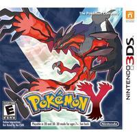 Nintendo game: Pokémon Y, 3DS