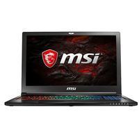 MSI laptop: Gaming GS63VR 7RG(Stealth Pro)-048UK - Zwart