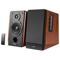 Edifier Speaker: RMS 15W×2 + 18W×2, 85dBA, 6.6kg - Zwart, Hout