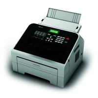 Ricoh FAX 1195L - Laser, 20ppm, 16MB, 300x600 dpi, 25 - 400%, GDI, USB 2.0, 420W Faxmachine - Zwart, Wit