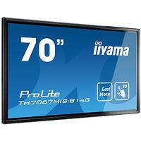 """Iiyama public display: TH7067MIS-B1AG/70"""" 10p IR Touch 24/7 - Beige"""