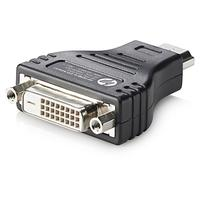 HP kabel adapter: HDMI to DVI Adapter - Zwart