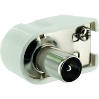 Schwaiger coaxconnector: WST04 102 - Wit