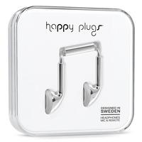 Happy Plugs Earbud Silver Headset - Zilver