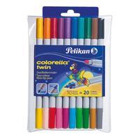 Pelikan viltstift: C304/10 - Multi kleuren