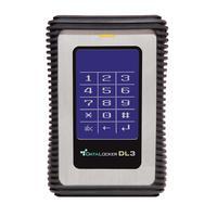 Origin Storage : DATALOCKER DL3 1TB USB 3.0 SSD MLC AES256BIT IND TEMP -30/+85 - Zwart, Zilver