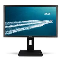Acer monitor: Professional B246HYLA - Grijs