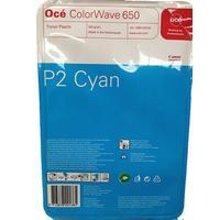 Oce cartridge: ColorWave 650 P2 - Cyaan